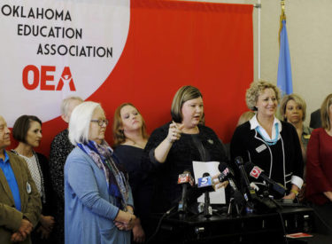 Oklahoma teachers decide to go on strike to get an increase in pay.