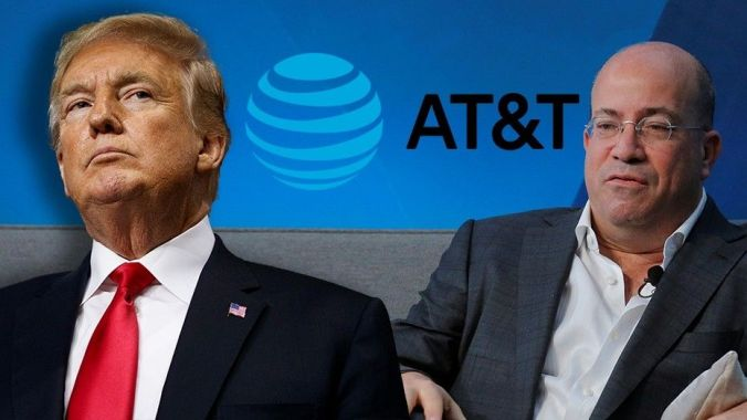President Trump calls for AT&T to fire Jeff Zucker
