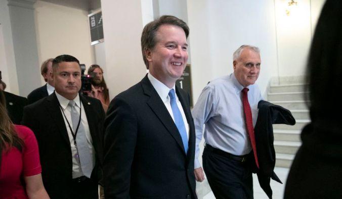 Senate Democrats Filibuster Confirmation Hearings of Brett Kavanaugh