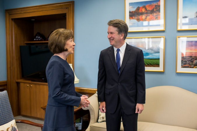 Senator Susan Collins refuses to be bribed in order to vote no on Kavanaugh confirmation