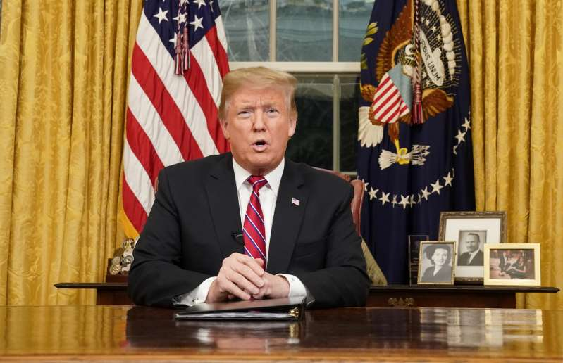 """President Trump tells of the """"humanitarian crisis"""" at our southern border"""